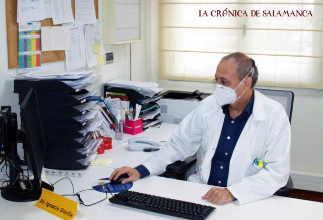 Ignacio Dávila, jefe de servicio de Alergología