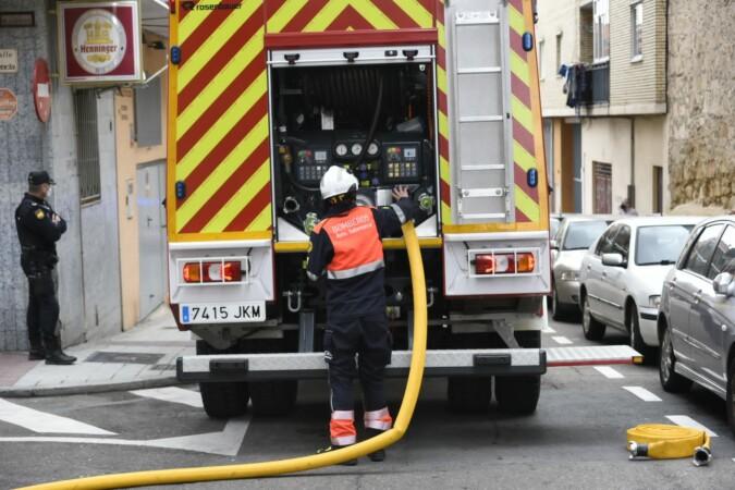 Incendio en la calle Plasencia. (8)