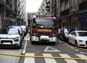 incendio calle plasencia bomberos