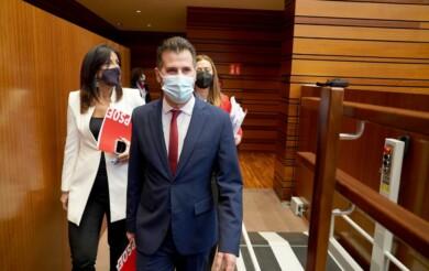 luis tudanca en el pleno de la mocion de censura ical