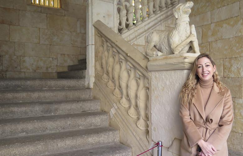 M. J. Asensio, escritora salmantina autora de 'Keswick y el árbol de la vida'. 2,.