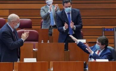 mocion censura igea aplaude mañueco ical