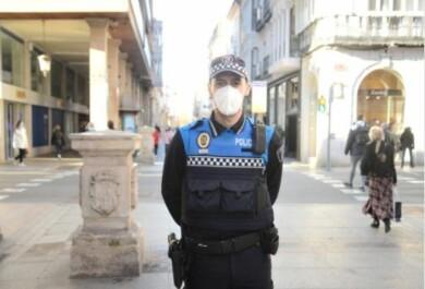 policia local palencia salva bebe
