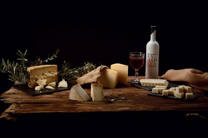 La Quesería La Antigua ofrece catas dirigidas para conocer y apreciar más el queso.