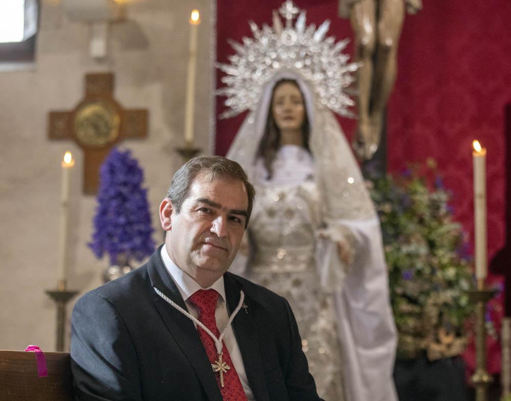 Susana Martín / ICAL . El presidente de la Hermandad del Cristo del Amor y de la Paz es Manuel González