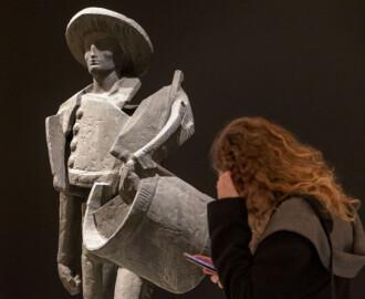 Susana Martín / ICAL . Inauguración de la muestra 'Alma Charra. La tradición salmantina en la obra de Venancio Blanco'