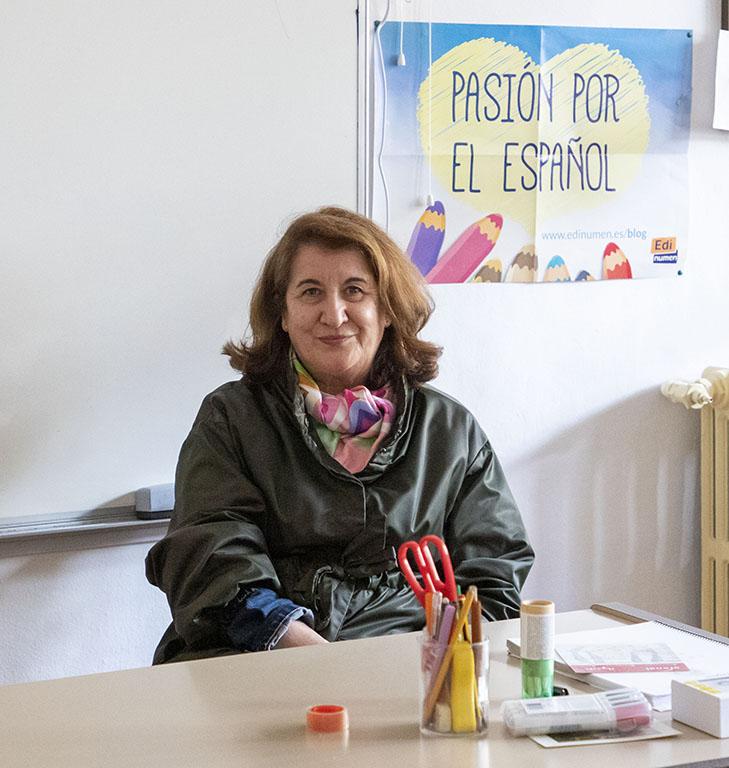Susana Martín / ICAL. Teresa González, directora del Colegio de España en Salamanca