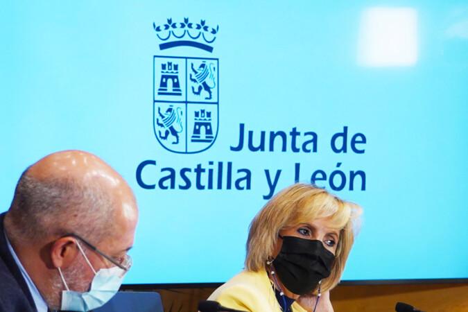 Miriam Chacón / ICAL. Francisco Igea, vicepresidente de la Junta de Castilla y León, y Verónica Casado, consejera de Sanidad.