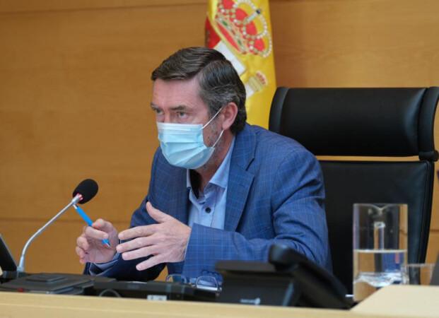 Cortes CyL / ICAL . El director general de Patrimonio Natural y Política Forestal de la Junta, José Ángel Arranz