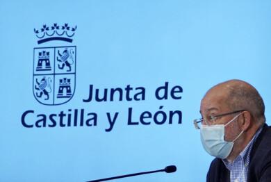 Miriam Chacón / ICAL . El vicepresidente, portavoz y consejero de Transparencia, Ordenación del Territorio y Acción Exterior de la Junta de Castilla y León, Francisco Igea