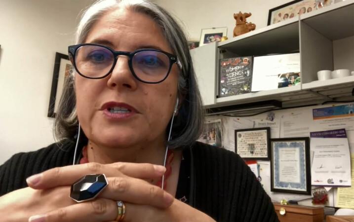 Ana Fernández-Sesma, catedrática de Microbiología y Enfermedades Infecciosas en la Facultad de Medicina del Monte Sinaí de Nueva York
