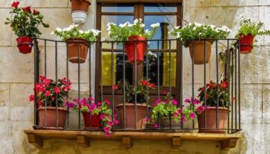 balcon macetas pixabay