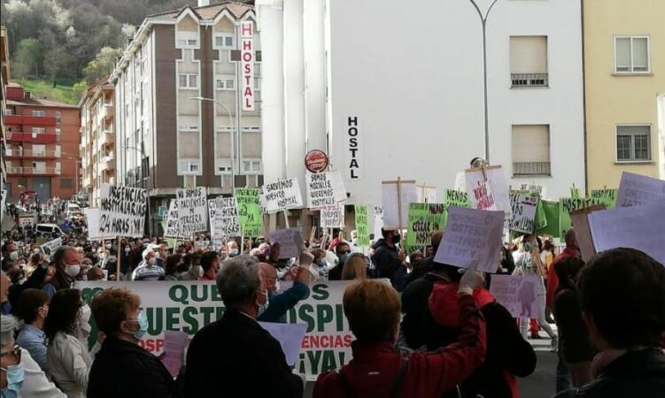 bejar protesta defensa sanidad hospital hospital