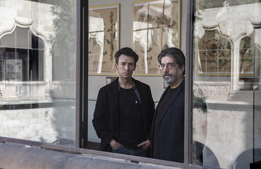Cristina Candel ICAL . Manuel Menchón y Luis García Jambrina, autores de 'La doble muerte de Unamuno.