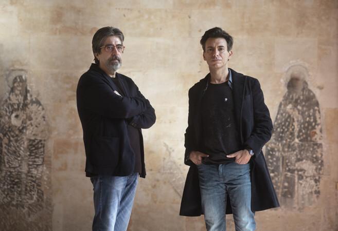 Cristina Candel ICAL . Manuel Menchón y Luis García Jambrina, autores de 'La doble muerte de Unamuno (2)