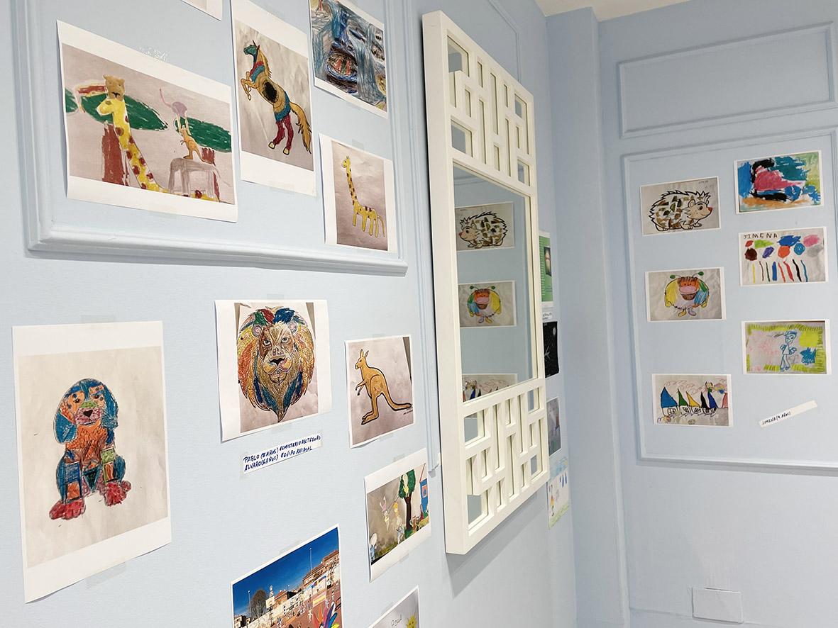 El Tormes acoge una exposición de dibujos de un proyecto nacido durante el confinamiento: Dibucontando