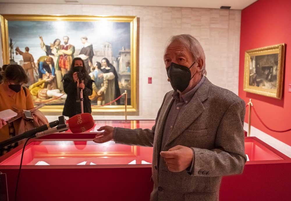 Eduardo Margareto ICAL. Inauguración de la exposición 'Comuneros. 500 años', con motivo del V centenario del movimiento comunero.