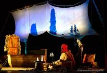 El auditorio de Villares acoge la obra 'El tesoro de Barrancuda', de A la sombrita teatro. Foto. A la sombrita teatro.