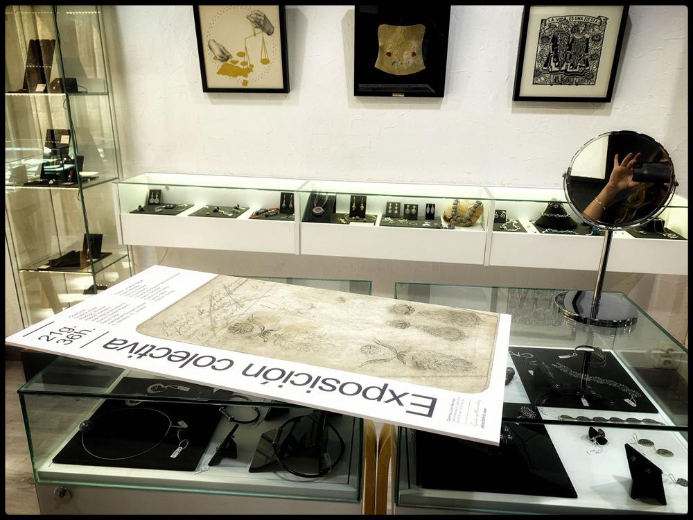 Cartel - Exposición 21g.36h. - Foto: Raquel Barbero