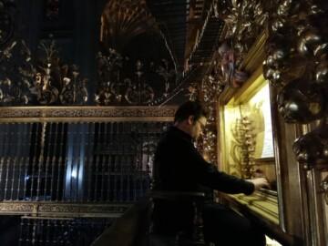 El organista salmantino Jorge García Martín.