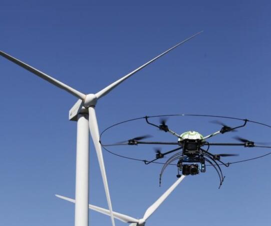 iberdrola aerogenerador parque eolico aracnocoptero