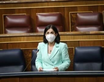 Ministra de Sanidad, Carolina Darías. Foto. Congreso de los Diputados.