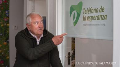 Moncho Campos, coordinador de formación del Teléfono de la Esperanza. (2)