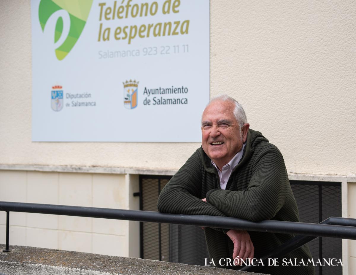 Moncho Campos, coordinador de formación del Teléfono de la Esperanza.