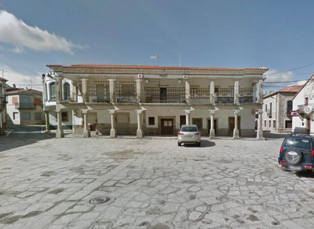 Plaza Mayor de Villavieja de Yeltes..Foto. Goglee Maps.