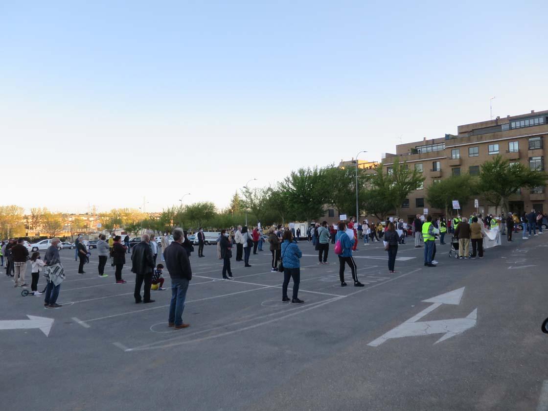 protesta centro salud prosperidad bernardas (2)