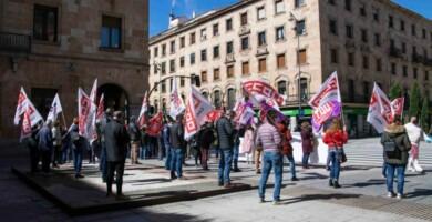 protesta ugt ccoo smi pensiones reforma laboral almudena iglesias