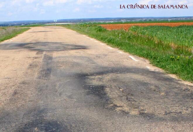 Carretera - Torresmenudas - Valverdón