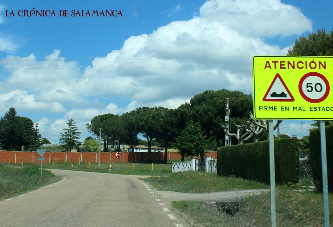 Carretera Valverdón - Torresmenudas
