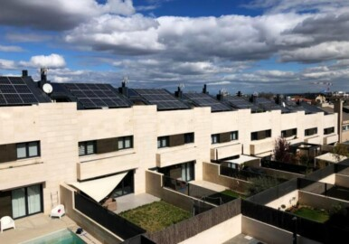 viviendas autoconsumo paneles solares