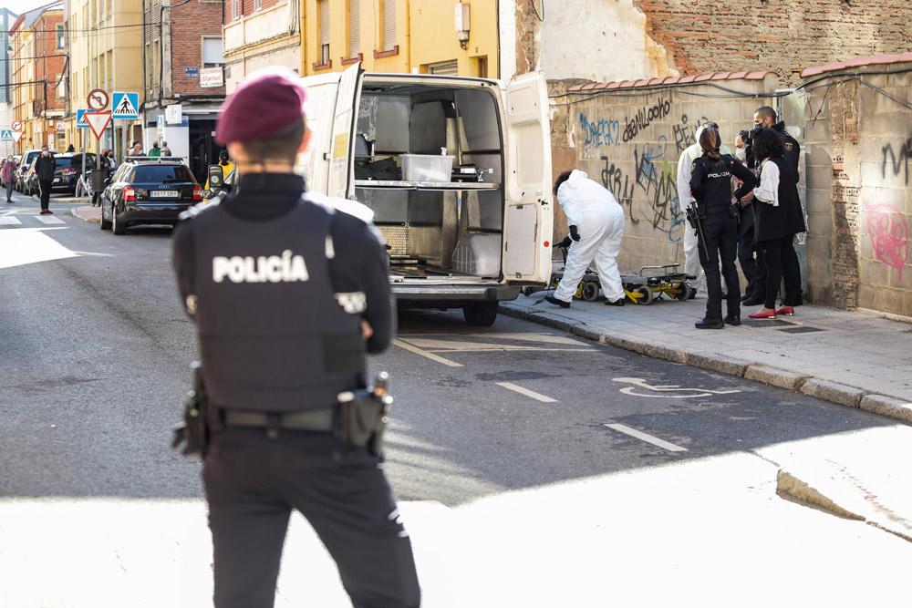 Campillo / ICAL. Encuentran un cadaver calcinado en el barrio del Crucero de León