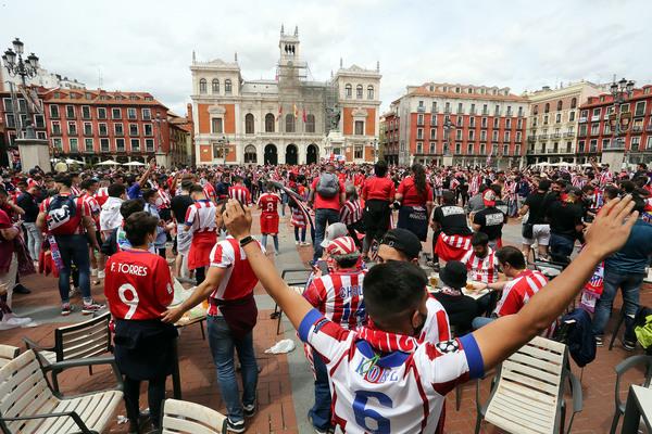 Aficionados Atleti - Valladolid