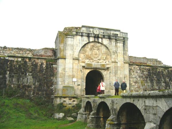 Fuerte de la Concepción, en Aldea del Obispo (Salamanca) (Noviembre 2006)