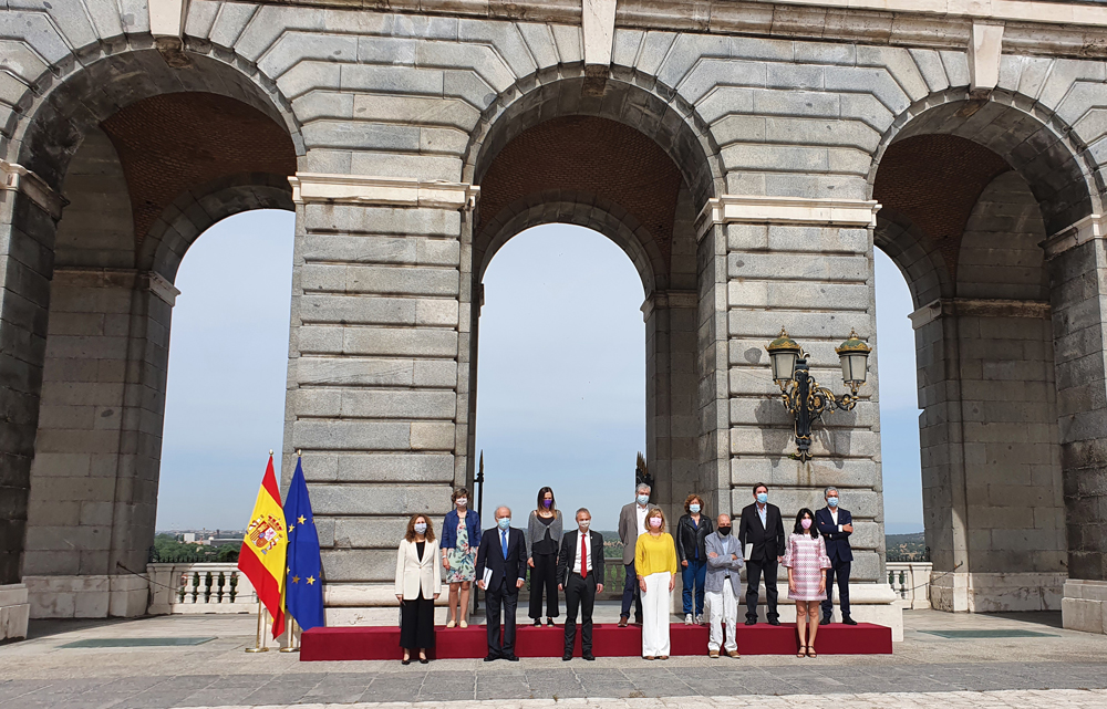 Miembros del jurado del Premio Reina Sofía de Poesía Iberoamericana