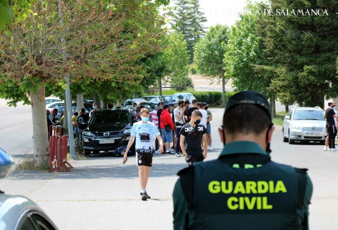 Protesta Aficionados Salamanca CF