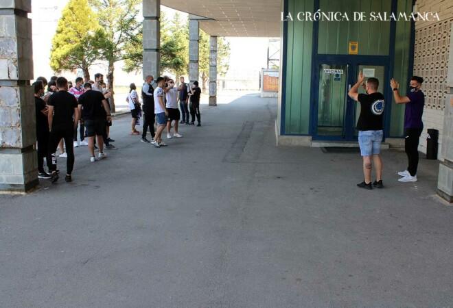 Protesta Aficionados Salamanca