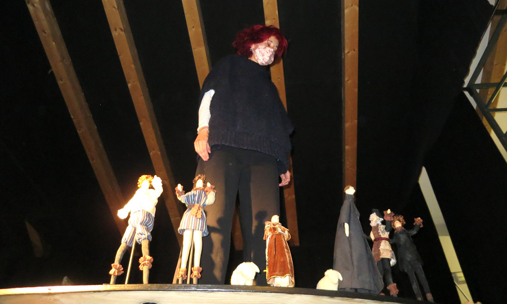 Ana Luz de Andres, de La Chana Teatro.
