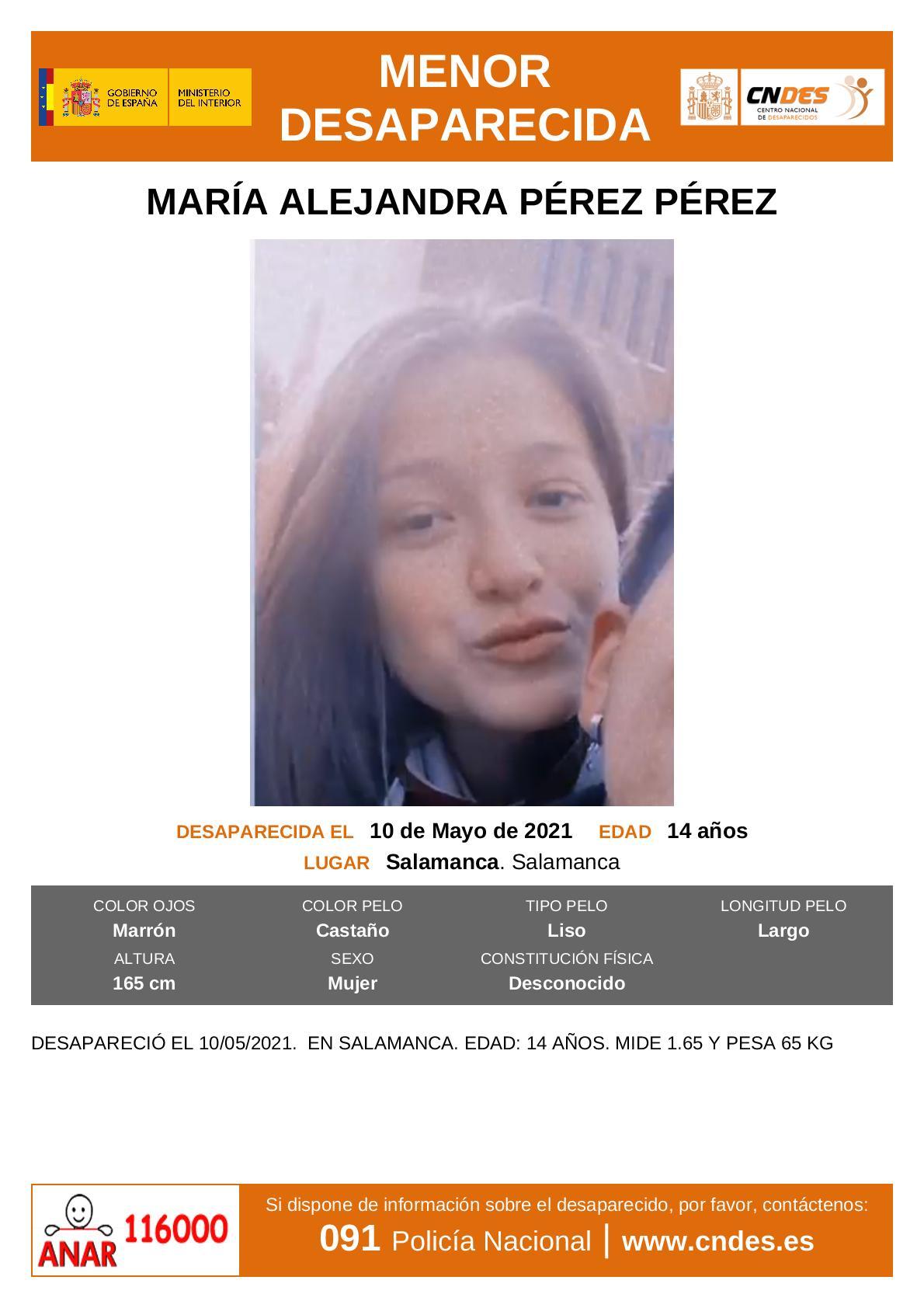 Desaparecida Salamanca