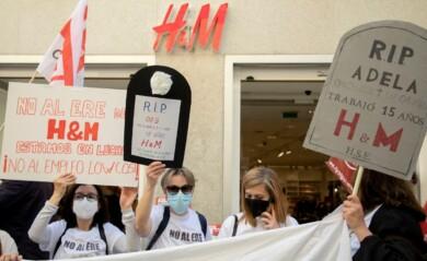 H&M protesta ere ical susana martin