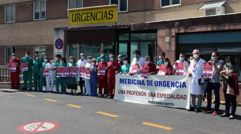Personal sanitario de Urgencias y Emergencias de Salamanca.