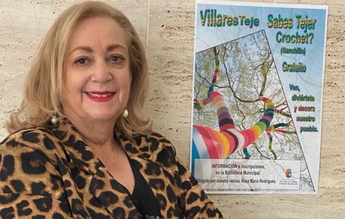 Mª de los Ángeles Giménez, concejala de Cultura y Educación de Villares de la Reina.