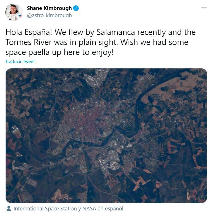 NASA Salamanca