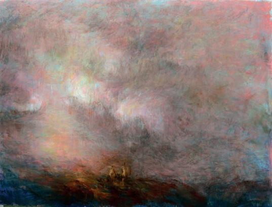 pintura cielo de salamanca natalia herraez