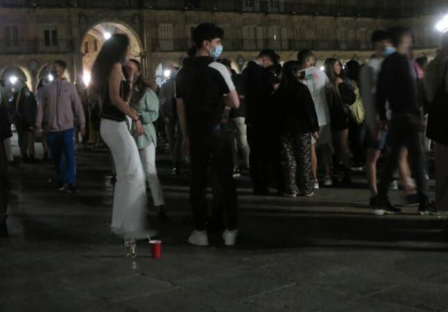 plaza mayor fiesta fin estado alarma 2