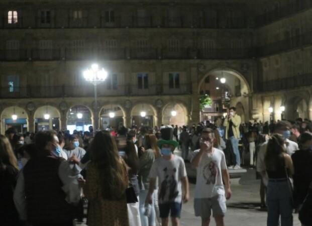 plaza mayor fin estado alarma fiesta 4