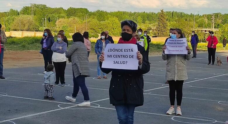 prosperidad protesta centro salud almudena iglesias martin (2)